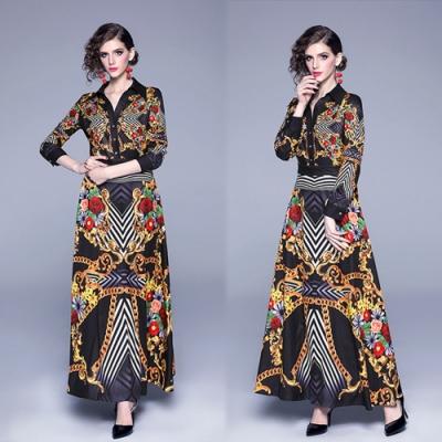 【KEITH-WILL】名品概念宮廷典雅修身洋裝-1色