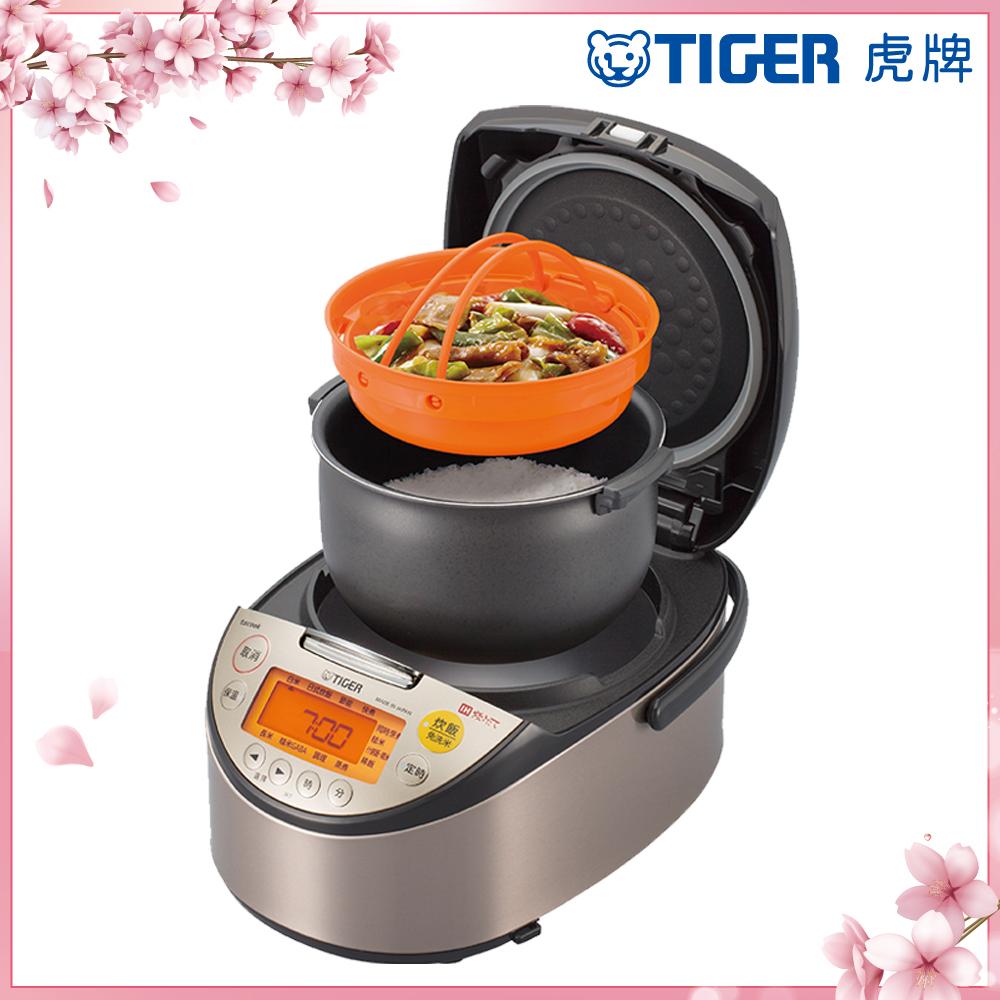 (日本製)TIGER虎牌10人份高火力IH多功能電子鍋(JKT-S18R)