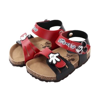 魔法Baby 男女童鞋 台灣製迪士尼米奇正版精緻休閒涼鞋 sd3241