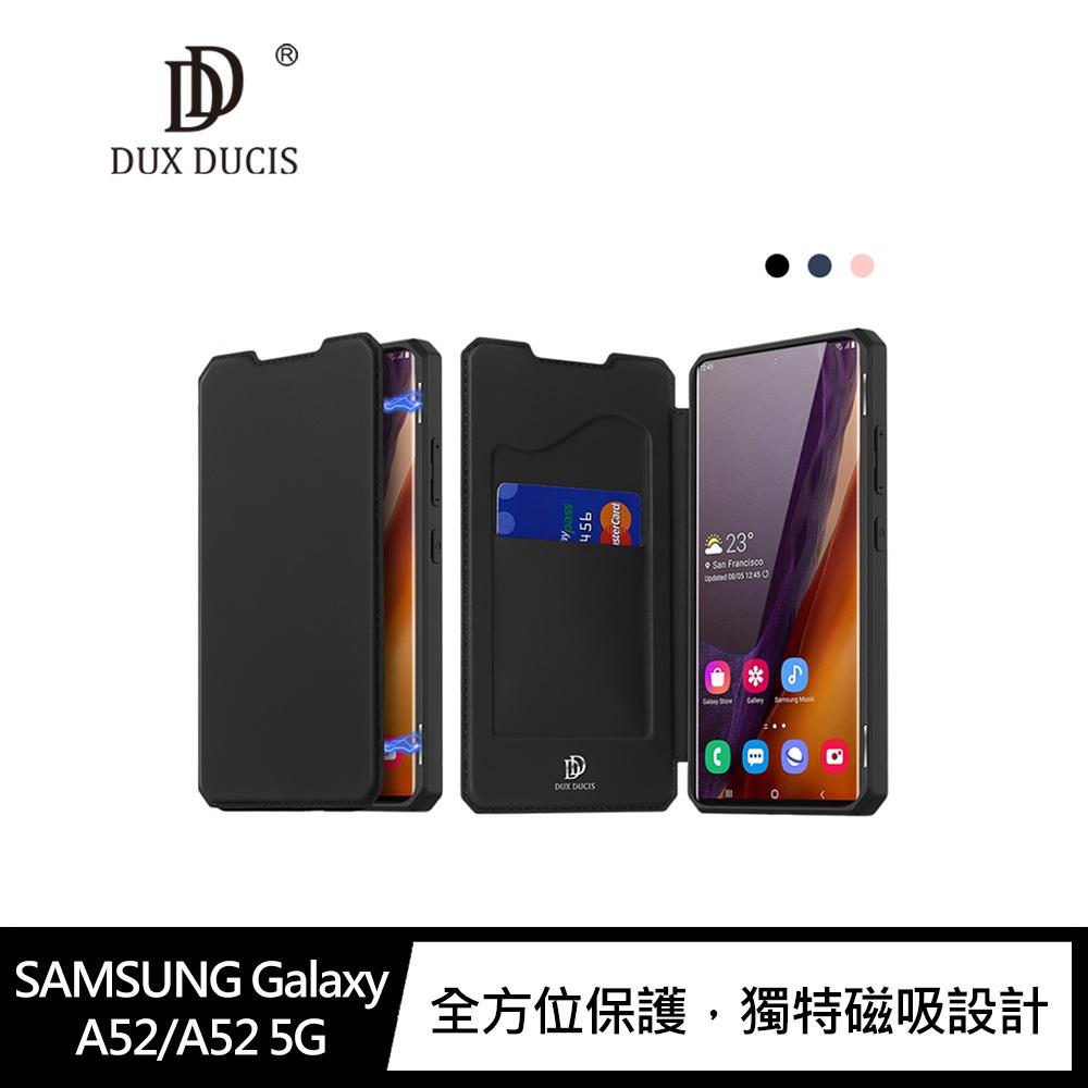 DUX DUCIS SAMSUNG Galaxy A52/A52 5G SKIN X 皮套#手機殼 #皮套 #保護套 #可立支架