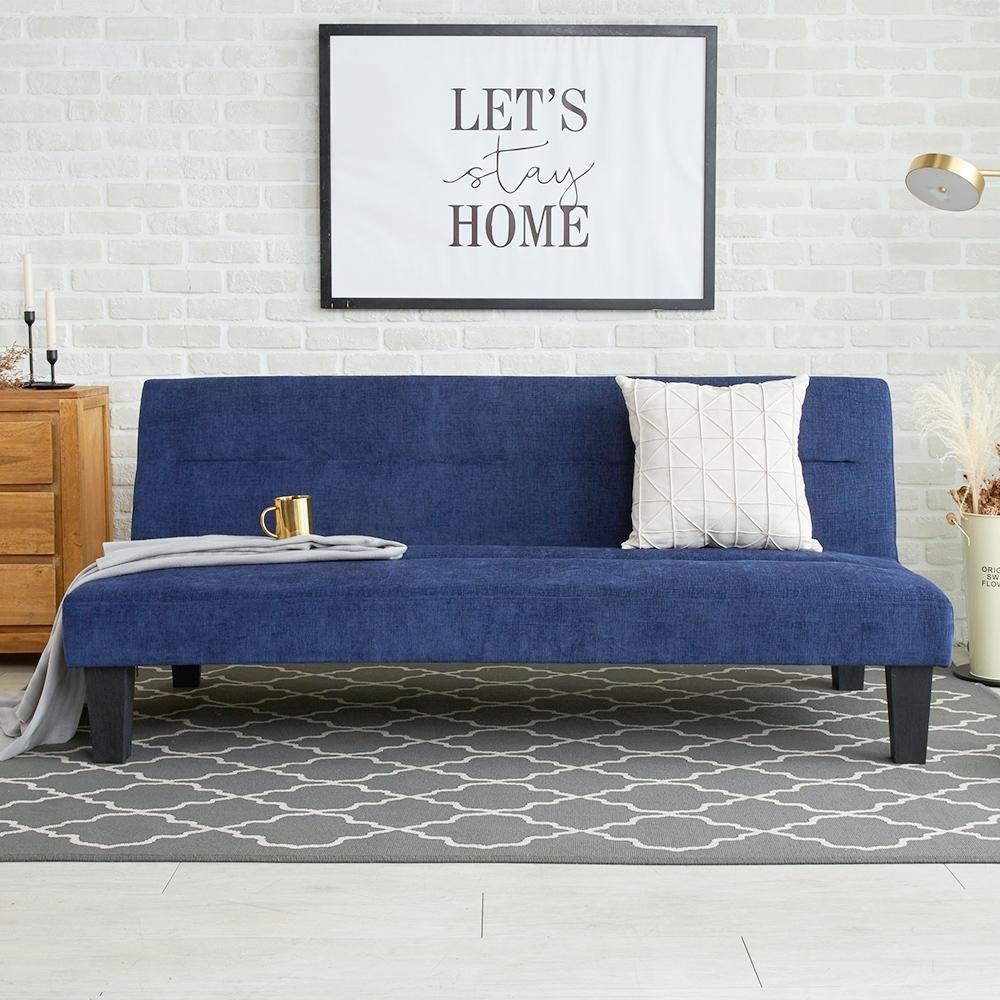 H&D東稻家 賽特拉現代風機能型布沙發床-3色
