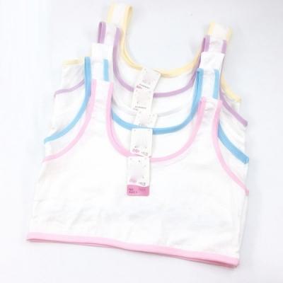 Baby童衣 發育期小背心 女童內衣 多花色包邊素面內衣 女孩成長小背心 88041