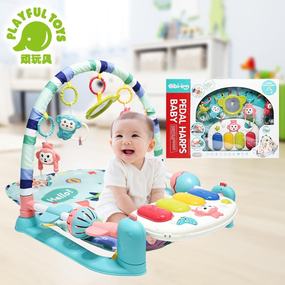 Playful Toys 頑玩具 投影腳踢鋼琴健身架(多功能寶寶健力架)