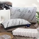 (限時下殺) Hilton希爾頓 五星級酒店 3D透氣天然竹炭枕 買一送一