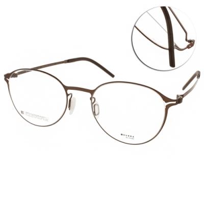 VYCOZ眼鏡 DURRA系列 薄鋼文青款 /棕#DR9002 BRN