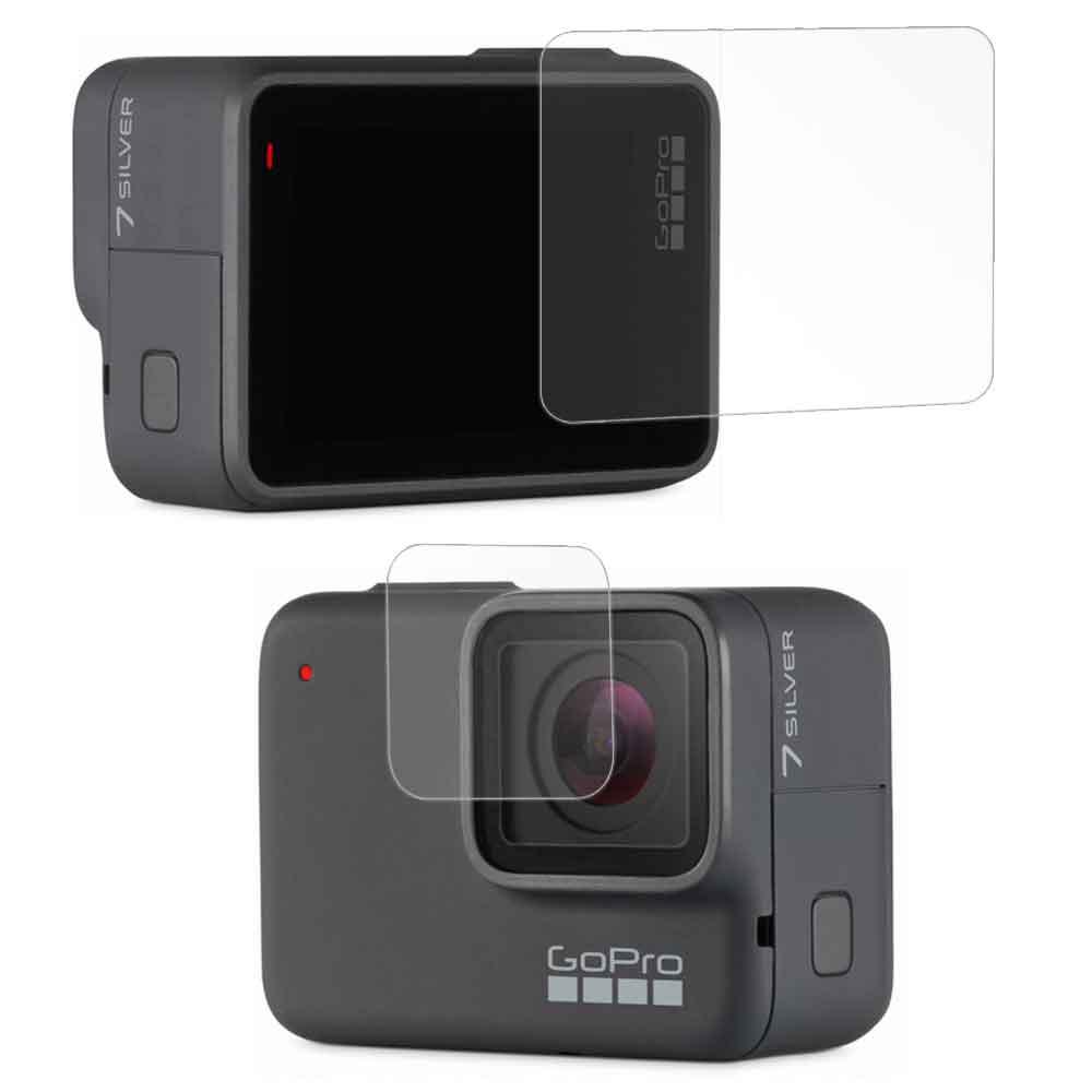 GoPro HERO7 相機鏡頭+觸控螢幕 光學抗刮螢幕保護貼