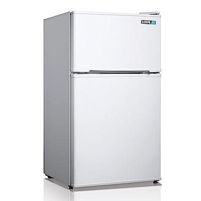 福利品-SAMPO聲寶 100L 1級定頻2門電冰箱 SR-A11G
