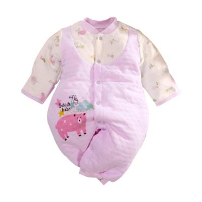 台灣製三層棉反包護手兩用兔裝 b0237 魔法Baby