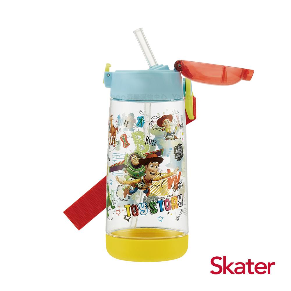 Skater PET吸管水壺(480ml) 玩具總動員