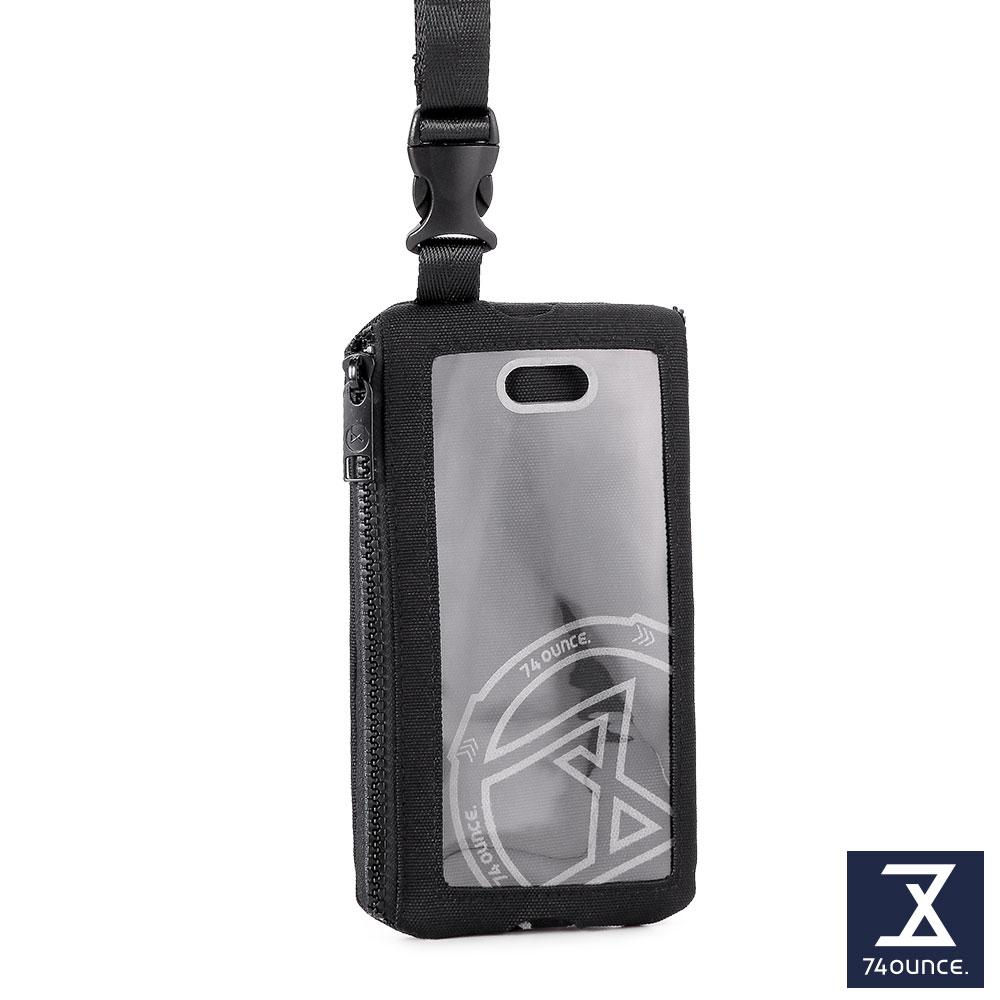 74盎司 Life 頸掛手機兩用包[TG-231-Li-T]黑