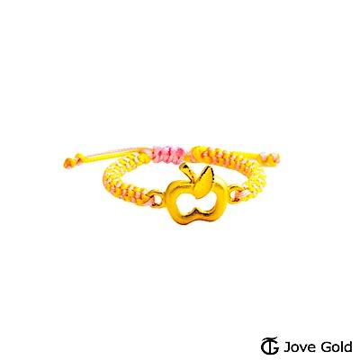 Jove gold 蘋安祝福黃金編織繩戒指