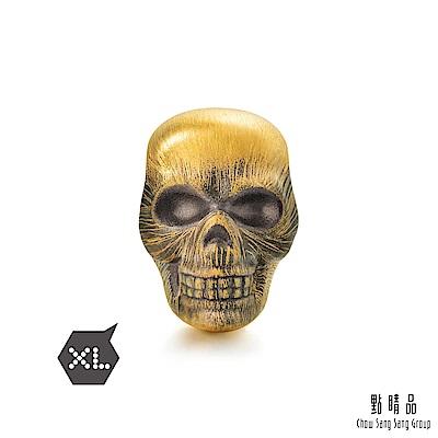 點睛品Charme XL -Tattoo系列- 骷顱頭 黃金串珠