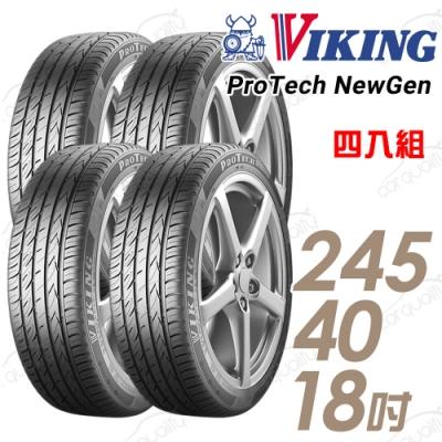 【維京】PTNG 濕地輪胎_送專業安裝_四入組_245/40/18 97Y(PTNG)