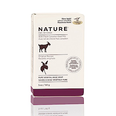 加拿大 Nature 頂級山羊奶滋養皂-經典原味-141g/5oz