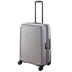 VICTORINOX 瑞士維氏CONNEX 可擴充26吋硬殼行李箱-鈦灰