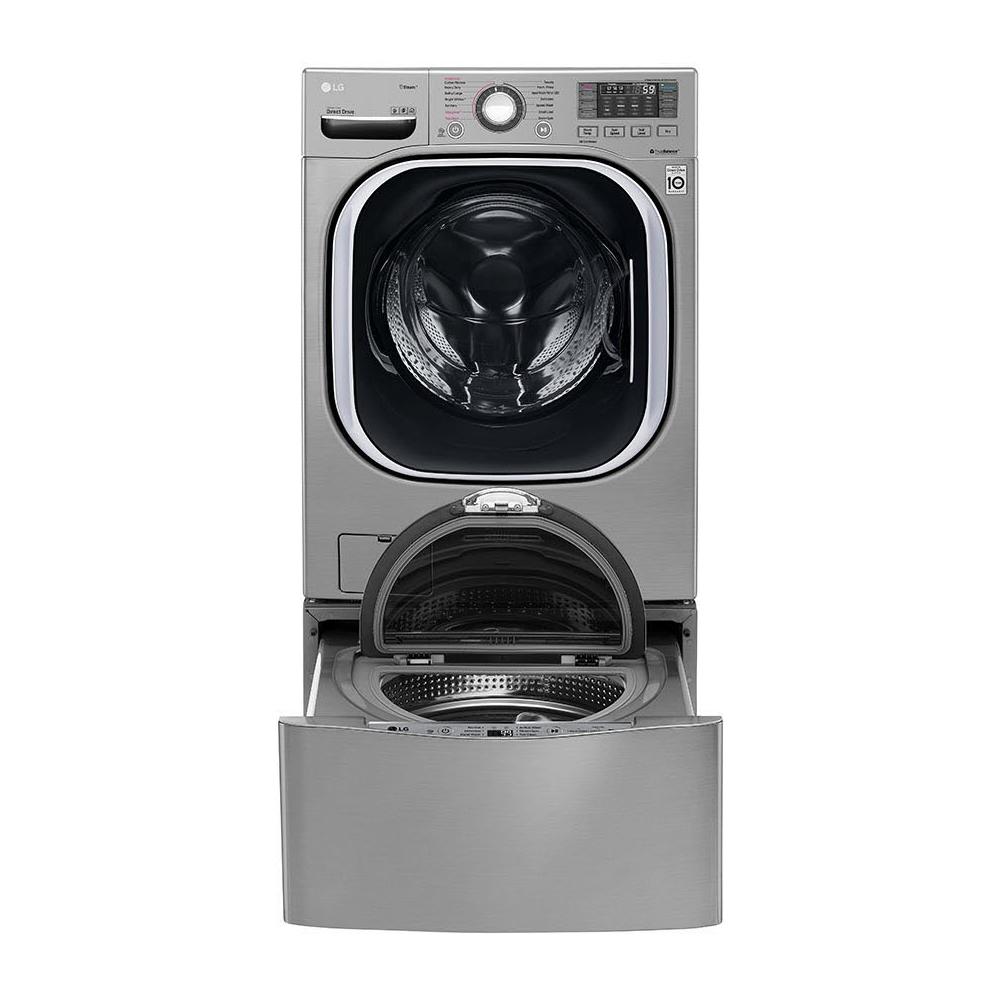 LG 樂金 19+2.5公斤雙能洗蒸洗脫烘(典雅銀)WD-S19TVC TWINWash