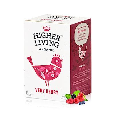 英國HIGHER LIVING 莓果嘉年華有機花果茶包(15入)