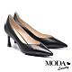 高跟鞋 MODA Luxury 典雅自信羊皮尖頭高跟鞋-黑 product thumbnail 1