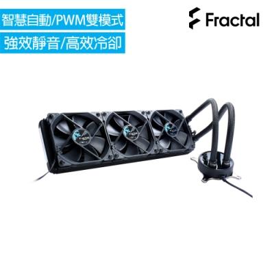 Fractal Design Celsius S36 360mm 一體式水冷散熱器-全黑化
