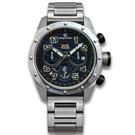 elegantsis 限量 中華民國海軍艦隊款 不鏽鋼手錶-深藍色/47mm ★贈錶帶