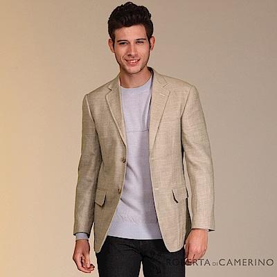 ROBERTA諾貝達 義大利原裝進口  簡潔休閒羊毛獵裝 米色