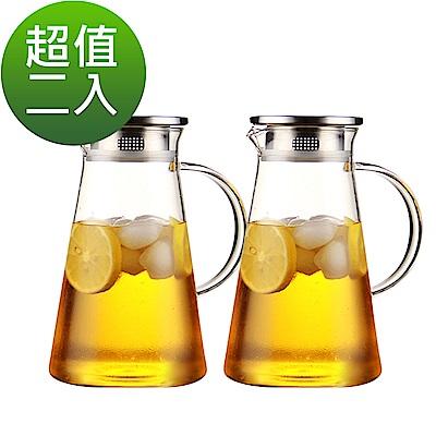 [時時樂限定](2入組) Incare 熱銷日本玻璃水壺1700ML