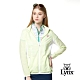 【Lynx Golf】女款吸濕排汗網狀透氣Lynx繡花可拆式連帽長袖外套-黃色 product thumbnail 2