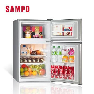 [福利品] SAMPO聲寶 100公升 1級定頻雙門冰箱 SR-B10G