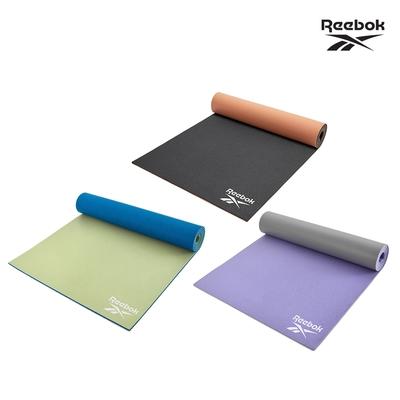 Reebok 專業訓練雙色瑜珈墊-6mm(共三款)