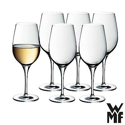 德國WMF Smart系列水晶玻璃白酒杯387ml(6入組)