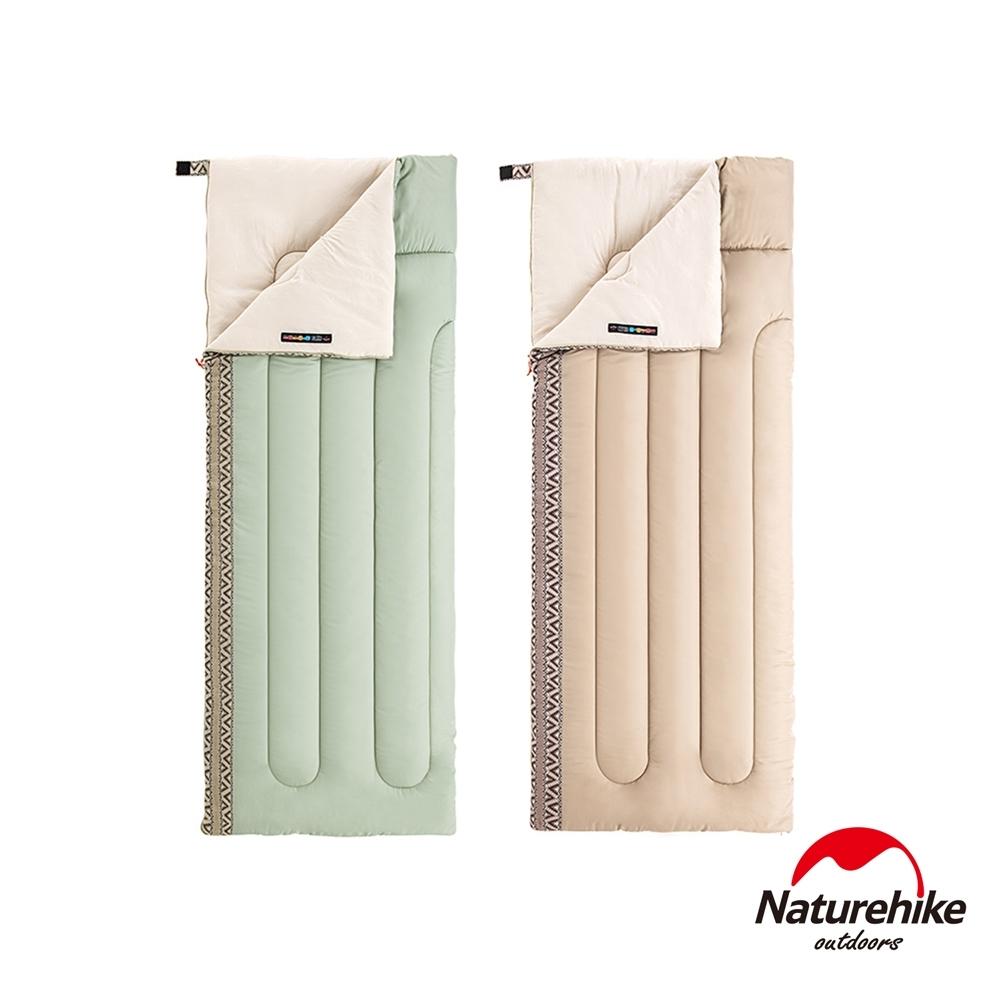 Naturehike L150質感圖騰透氣可機洗信封睡袋 標準款-急