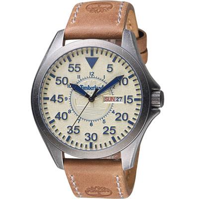 Timberland 探險旅人時尚錶(TBL.15594JSQ/14)46mm