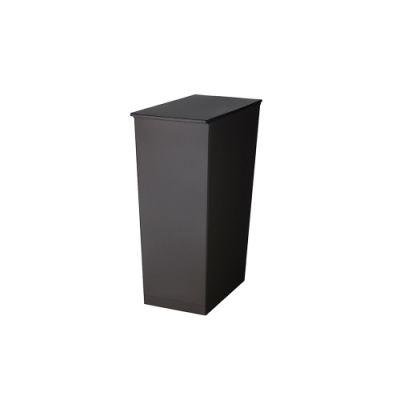 日本岩谷Iwatani 長型可分類掀蓋式垃圾桶(附輪)-36L