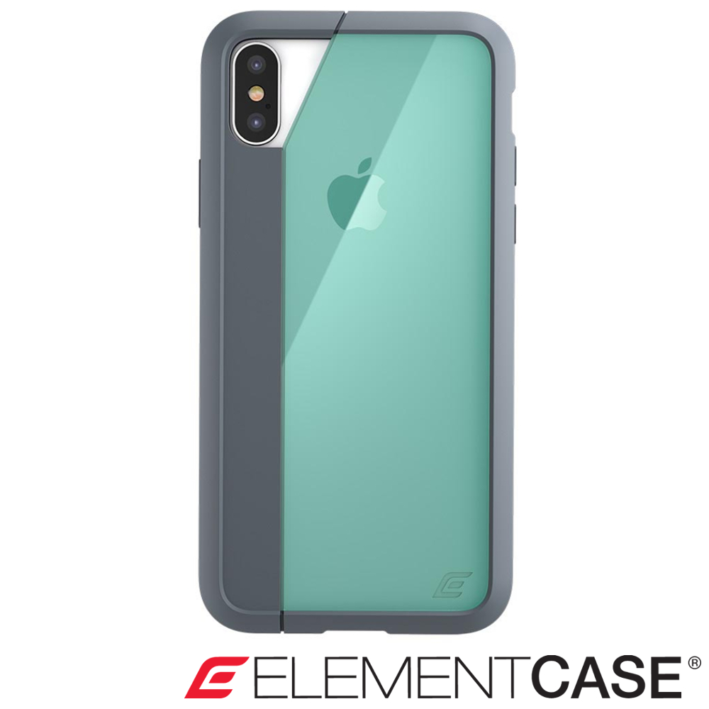 美國 Element Case iPhone XS Max Illusion防摔手機殼-綠