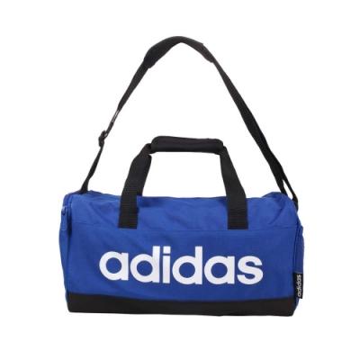 ADIDAS 圓筒包-側背包 裝備袋 行李袋 旅行包 運動 愛迪達 GE1159 藍白黑
