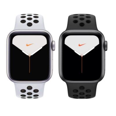 Apple Watch S5 NIKE GPS版 44mm 鋁錶殼配運動錶帶