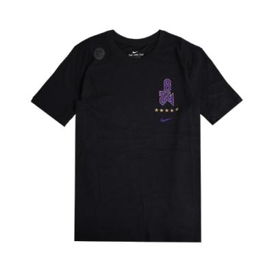 Nike T恤 Kobe Logo Dri-FIT 男女款 吸濕排汗 圓領 棉質 824 傳奇 黑曼巴 黑紫 CV1043010