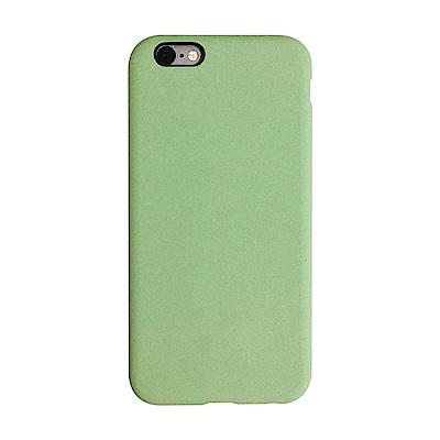 【TOYSELECT】iPhone 6/6s 文藝液態矽膠全包防摔殼:薄荷綠