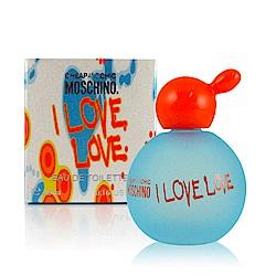 *Moschino 愛戀愛女性淡香水小香4.9ml