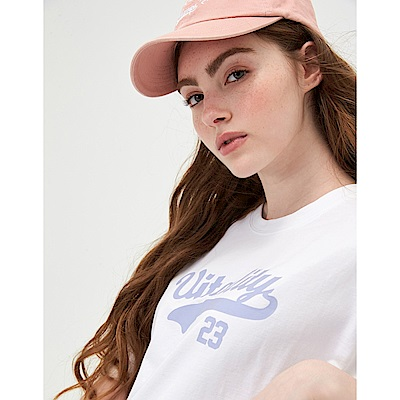 CACO-落肩剪接上衣-(兩色)-女【TAR005】