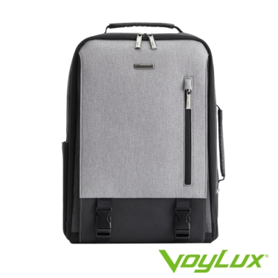 VoyLux 伯勒仕-極簡系列都市生活電腦後背包-冰灰色3585108