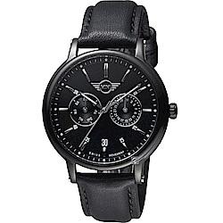 MINI Swiss Watches英式經典腕錶(MINI-160634)-黑殼