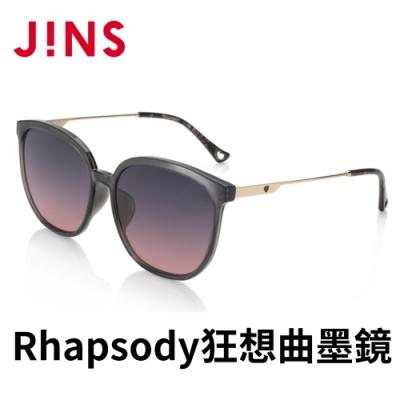 JINS Rhapsody 狂想曲Sweet Dream墨鏡(ALRF21S037)木紋黑