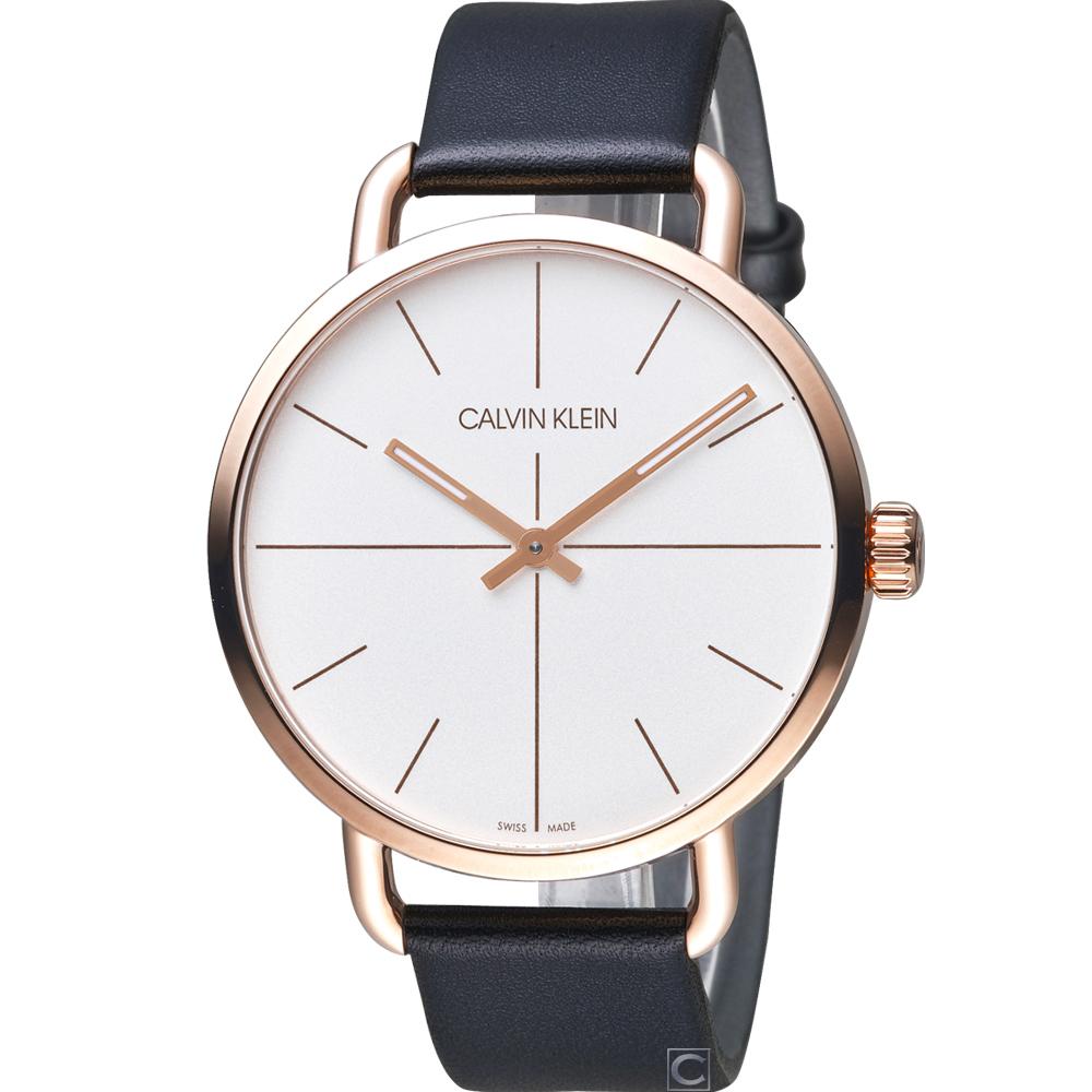Calvin Klein K7B even 超然時尚腕錶(K7B216C6)42mm