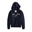 Hollister HCO 女 連帽外套 藍色 1466