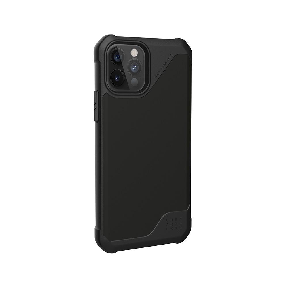 UAG iPhone 12/ 12 Pro 耐衝擊保護殼-極簡黑