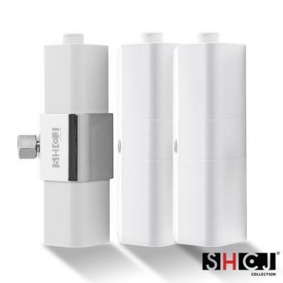 SHCJ生活采家加量型七級過濾沐浴淨水器(1器心+2濾心)