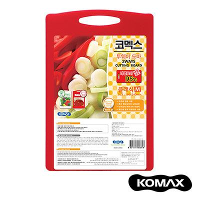 韓國KOMAX 抗菌銀離子頂級兩用砧板(中)