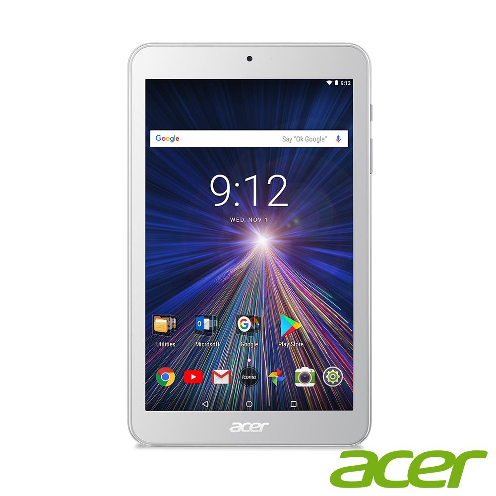 Acer Iconia One8 B1-870 8吋IPS四核WiFi/16G-白色(福) @ Y!購物