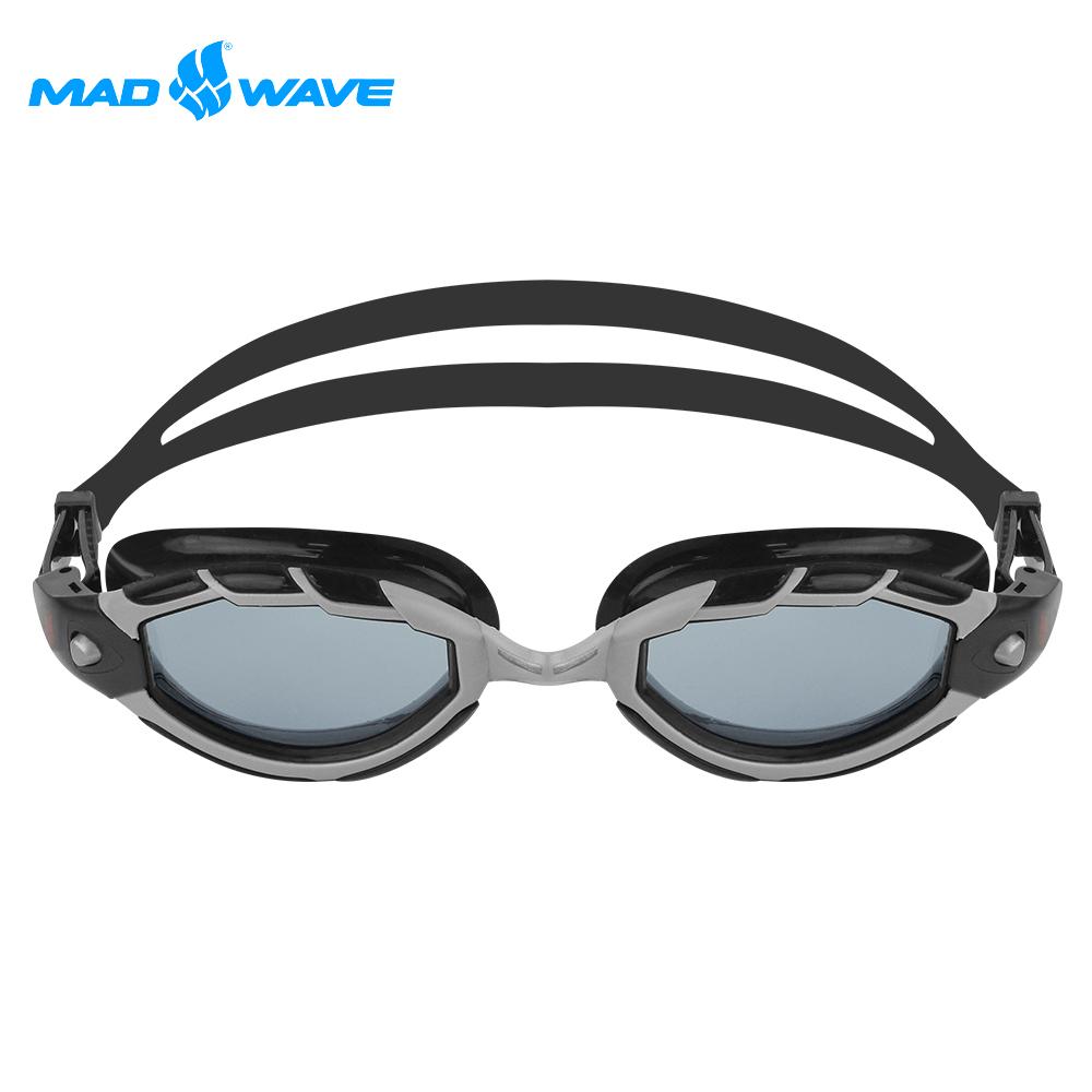 俄羅斯 邁俄威 成人泳鏡 MADWAVE SHARK